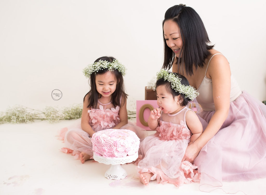 spring cake smash with pictonat photography