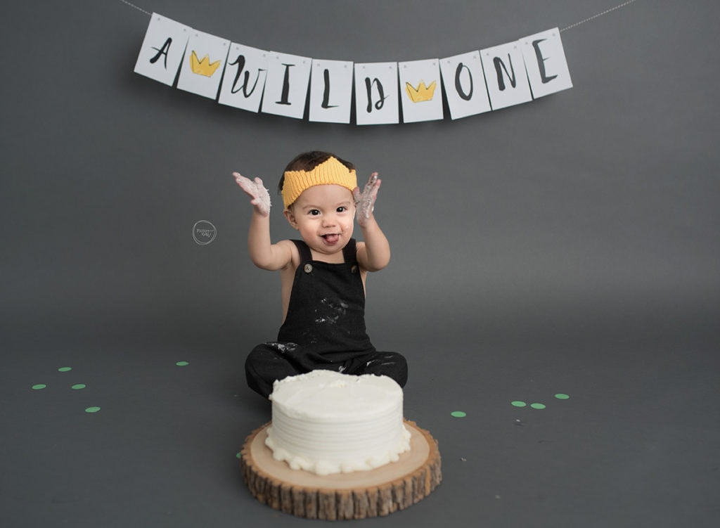 Pictonat photography Cake Smash Toronto