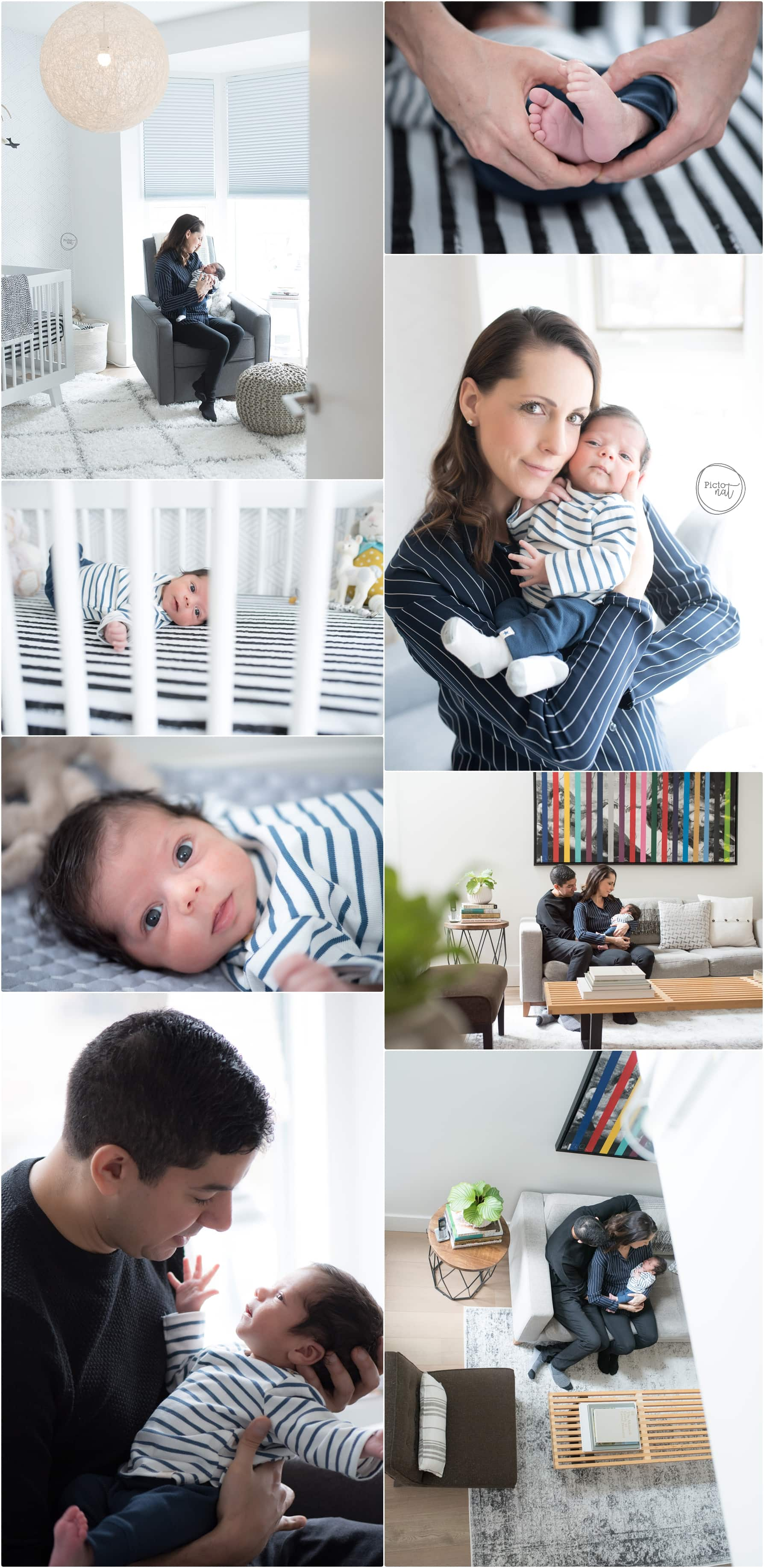 Toronto Lifestyle Newborn Photography