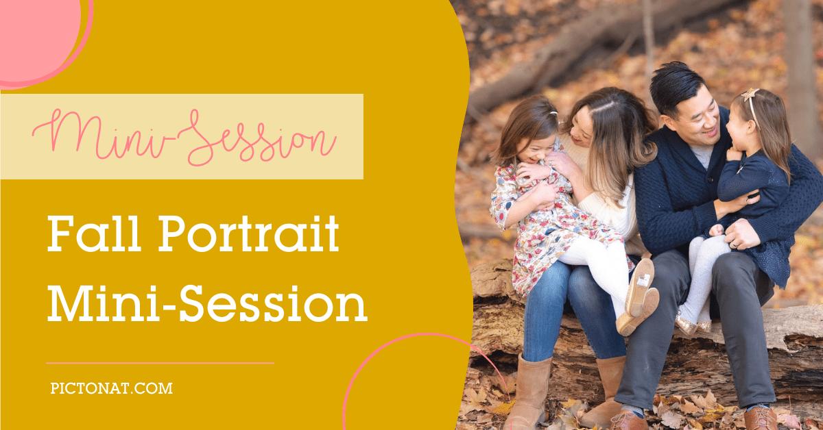 Fall Mini Session - Toronto Pictonat Photography