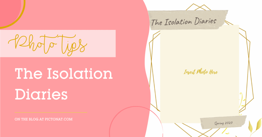 Covid Isolation Diaries Photo Book