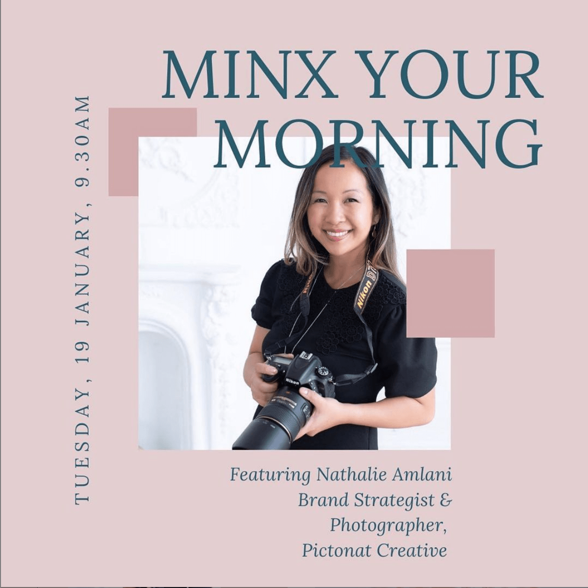 Guest on Minx Your Morning Show